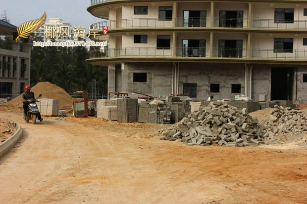 椰风海岸酒店内部装修基本完成